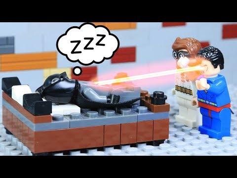 Lego Superhero How To Wake Up Batman