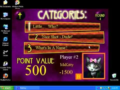 The Big Genius Bible Trivia Game CD Video Sample
