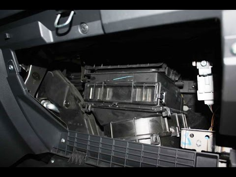Fiat Sedici Innenraumfilter Wechseln Youtube