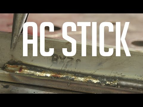 🔥 AC Stick Welding with the AlphaTIG 201XD