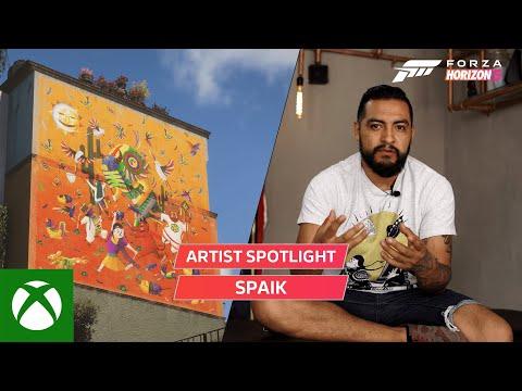 Spike создал граффити для Forza Horizon 5