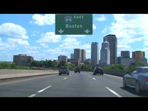 I-84 East Through Hartford, CT
