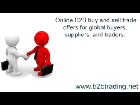 Online B2B Marketplace Offers Export Import Trade Leads