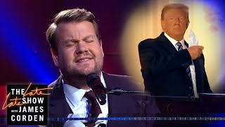 Trump: 'Maybe I'm Immune' - Paul McCartney Parody Inspired by President Donald Trump's return to the White House with James Corden performs a special version of Paul McCartney's classic .Maybe I'm Amazed., From YouTubeVideos