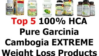 Top 5 100% Hca Pure Garcinia Cambogia Extreme Review Or Weight Loss Products That Work Fast 2016 V47