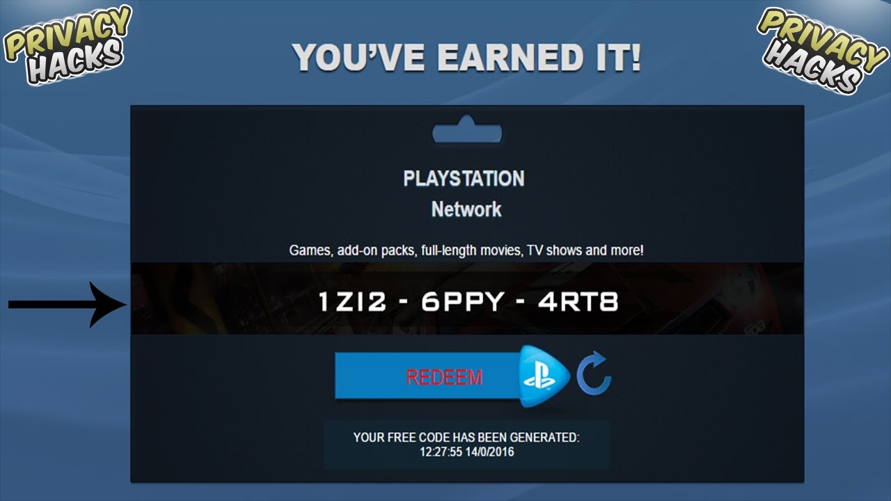 forexdemofacil26.tk store 10 digit code is the an alphanumeric code that you can get from bundle purchase of PS4 and PS3 games. The PSN (also known as PlayStation) is the service that lets you play wide range of video games with your friends. It is the digital platform which was founded by Sony Entertainment in Continue reading
