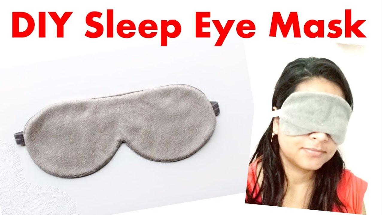 Diy Easy Sleeping Eye Mask You