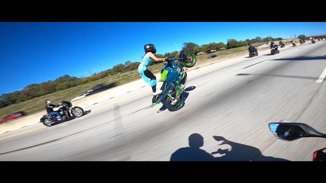 Found Footage from this CRAZY Halloween Ride! - A Day in the Life