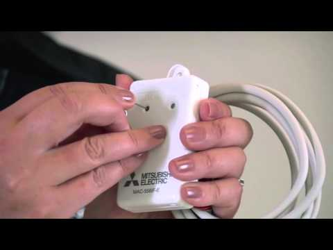 Conectar el adaptador Wifi mitsubishi electric
