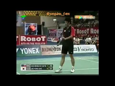 2008 Lee Yong Dae Playing Men's Single in Thomas & Uber Cup Preliminaries