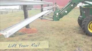 Used Guardrail Fence Installation - Best Cattle Fence