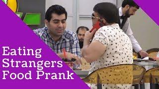 Eating strangers food prank in Pakistan