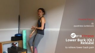 standing ql release to relieve lower back pain