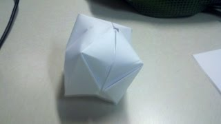 How To Make An Origami Paper Water Bomb (die)