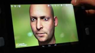 Human Faces Simulated with Computer Technology (NVIDIA Tegra K1)