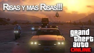 RISAS Y MAS RISAS!! GTA V Online con Vegetta y Willyrex - [LuzuGames]