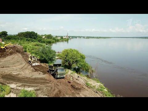 В Амурской области ухудшается ситуация с паводками, наиболее тяжелая ситуация в Белогорском районе.