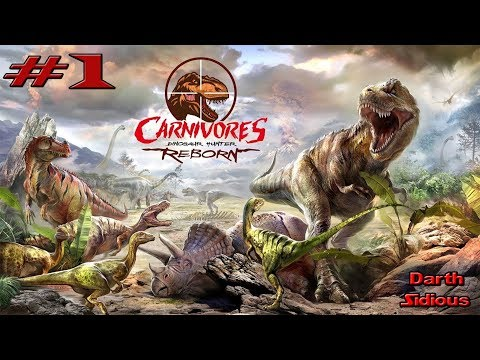 Carnivores: Dinosaur Hunter Reborn#1||Первая охота