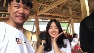 Nhờ clip quay lén mà em gái bán lê Sinh Vương(Vàng Thị Sinh)nổi Như Cồn,ai củng đến xin chụp ảnh