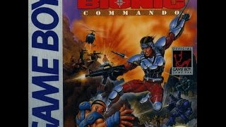 Game Boy Bionic Commando Video Walkthrough