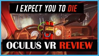 I EXPECT YOU TO DIE - OUCH! Oculus VR Review (Video Game Video Review)