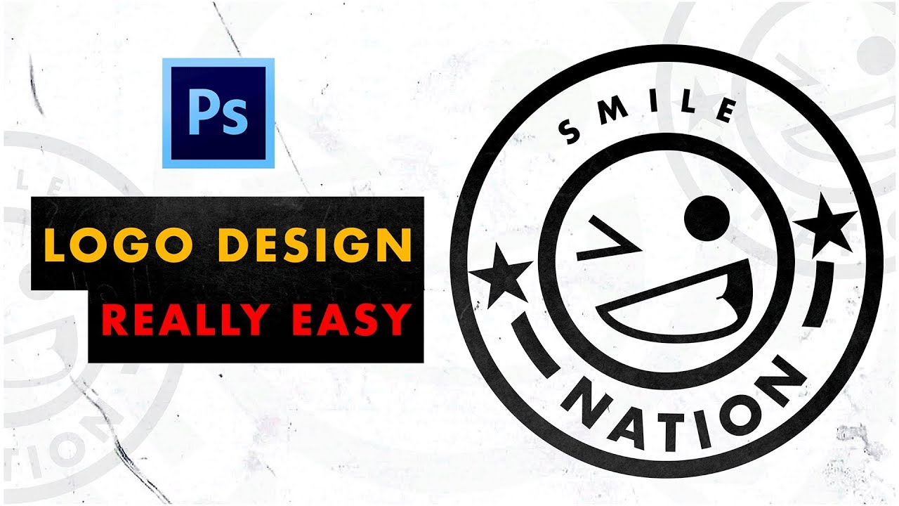 How to DESIGN A LOGO for your CLOTHING LINE | Photoshop Tutorial