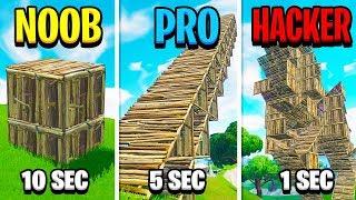 NOOB vs PRO vs HACKER - Fortnite (UNGLAUBLICH)