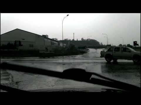 Raining in Nicosia 9th of December 2014 (Cyprus)
