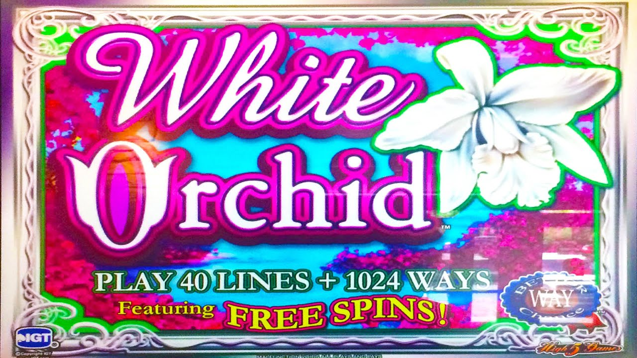 Wild Orchid Slot Machine
