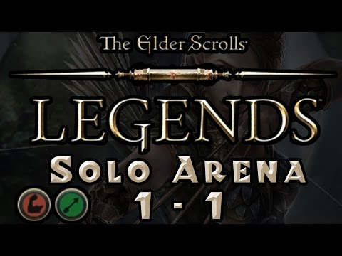 The Elder Scrolls: Legends - Solo Arena Run #1 - Part 1