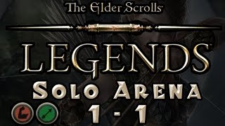 The Elder Scrolls: Legends - Solo Arena Run #1 - Part 1