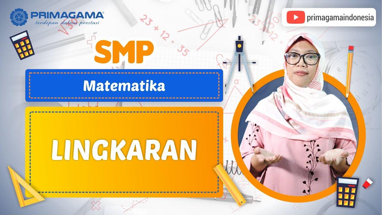 Video Pembelajaran | SMP | Matematika | Lingkaran