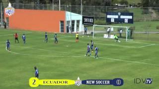 Ecuador (3-0) New Soccer (Colombia) ( Copa Mitad del Mundo 15/06/2015)