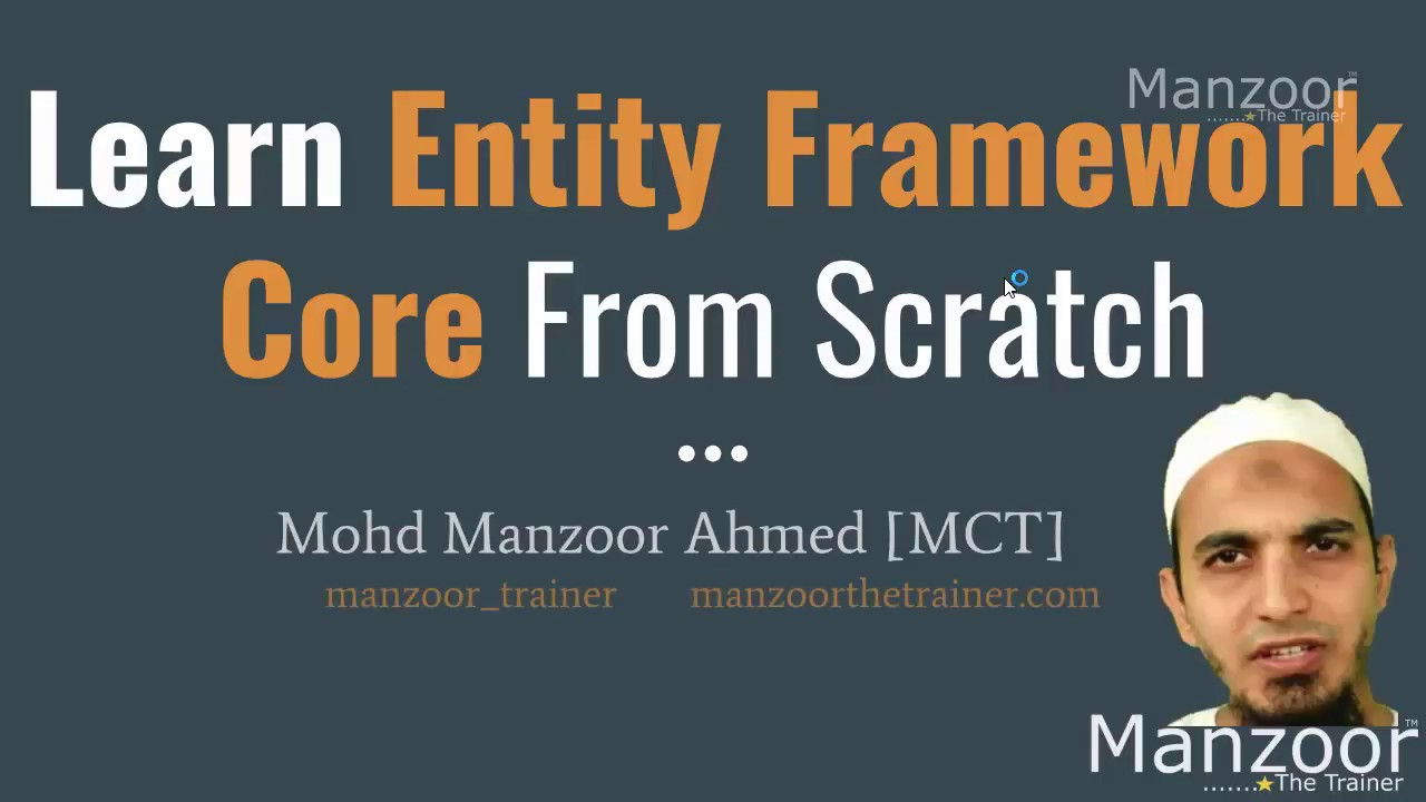 Learn Entity Framework Core 2 0 From Scratch - Code First Approach (Part 1  of 10)