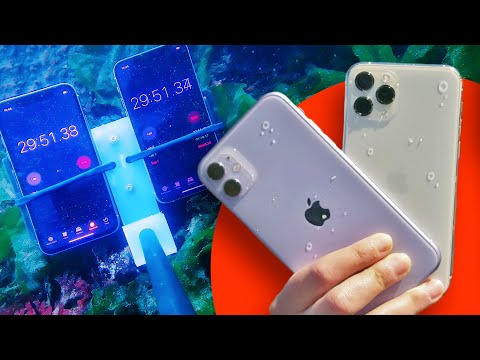 IPhone 11 Water Test With An Underwater Drone