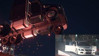 NFS Payback Mods - Flying Semi-Truck + Stealing Reiji