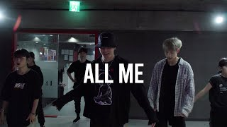 Kehlani - All Me   Jinwoo Choreography