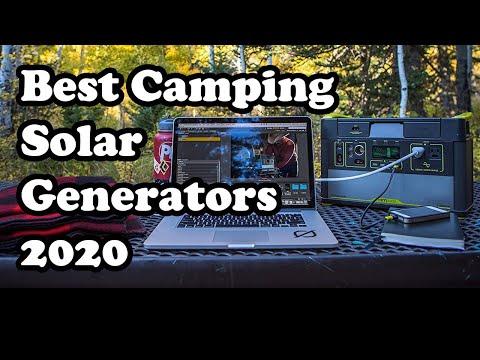 Best Camping Solar Generators: Best Camping Generators