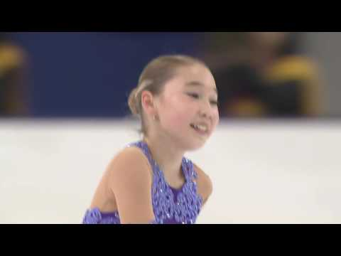 2016 ISU Junior Grand Prix - Yokohama - Ladies Short Program - Alana TOKTAROVA KAZ