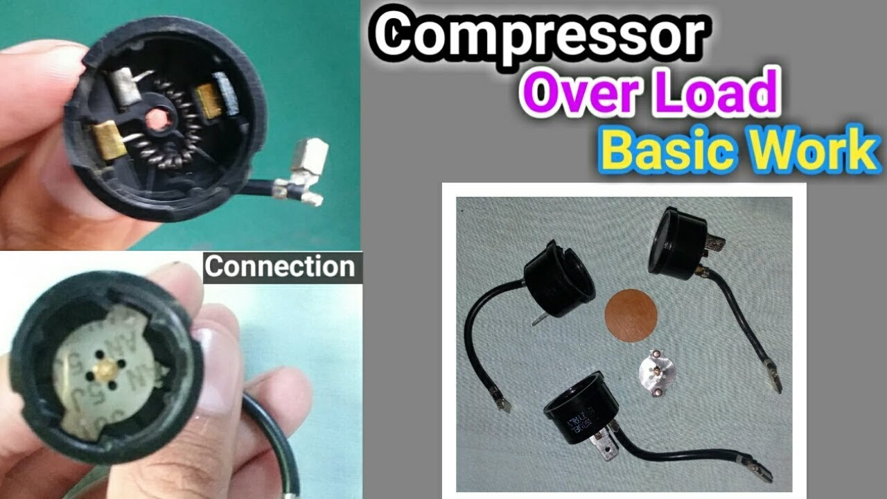 Compressor overload basic work Function and connection in Urdu/Hindi ...