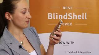 Produktvideo zu Blinden-Smartphone BlindShell 2