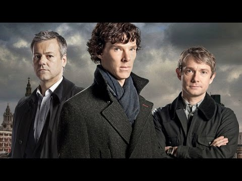 Rupert Graves and Sue Vertue on Sherlock 2015 Christmas Special  IGN Live: ComicCon 2015