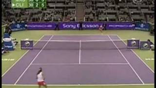 [HL] Amelie Mauresmo vs. Kim Clijsters 2006 WTA Championships [SF]