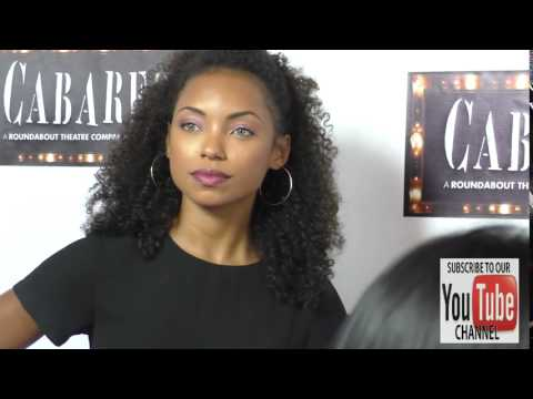 Logan Browning at the Opening Of Cabaret At Hollywood Pantages Theatre