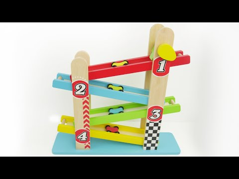 Thumbnail: Learning Video for Preschool Kids to Learn Colors, Sorting, Counting with Best Car Toys!