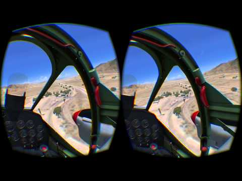 Flying a P-38 Lightning Around Palm Springs in FSX-SE with the FlyInside-FSX Plugin and ORBX Scenery