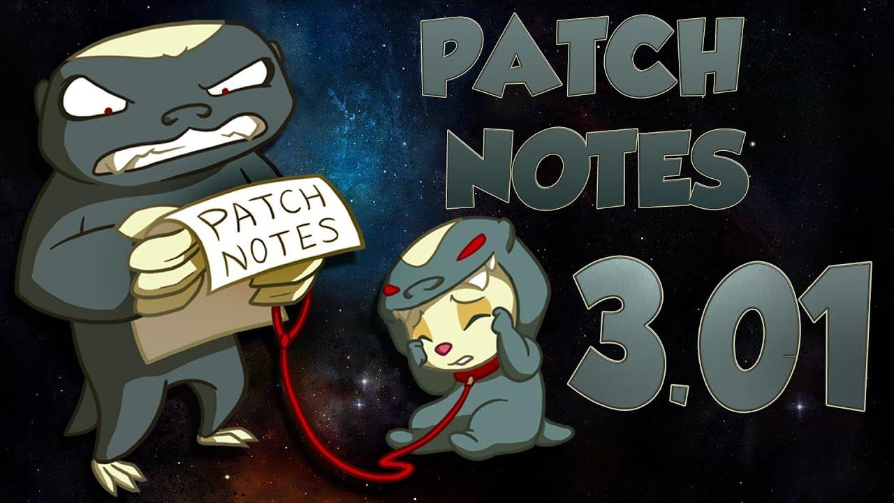 Patch Notes - 3.01 Season 3! League of Legends