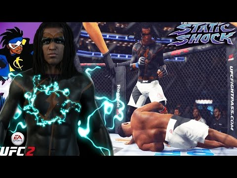 Static Shock Knocking Bang Babies Out! Off The Cage KO! EA S