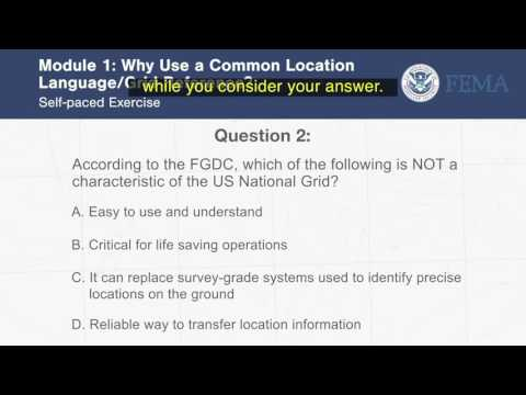 USNG Introduction Video