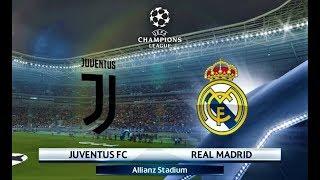Juventus vs Real Madrid | UEFA Champions League 2018 | PES 2018 Gameplay HD